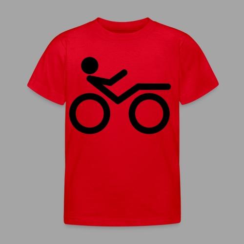 Recumbent bike black 2 - Lasten t-paita