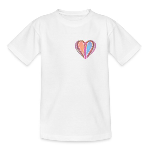 Hearts dont split, they get wings - Kids' T-Shirt