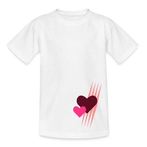 Teddy.Kidswear. – Hearts - Kinder T-Shirt