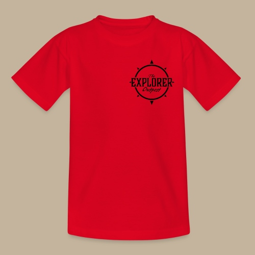 Black TEO Logo - Kids' T-Shirt