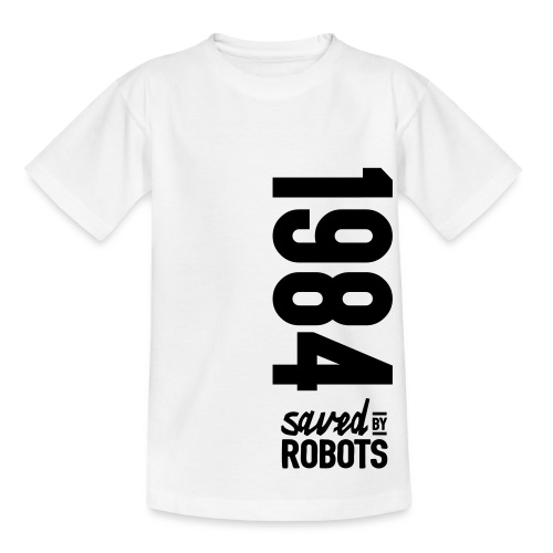 1984 / Saved By Robots Premium Tote Bag - Kids' T-Shirt