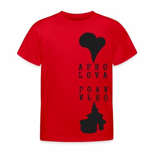 Reflet Afro Lova Rouge - T-shirt Enfant