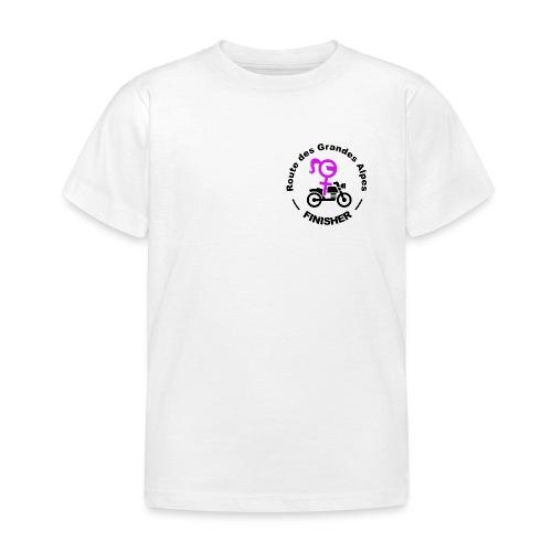route des Grandes Alpes finisher girl - T-shirt Enfant