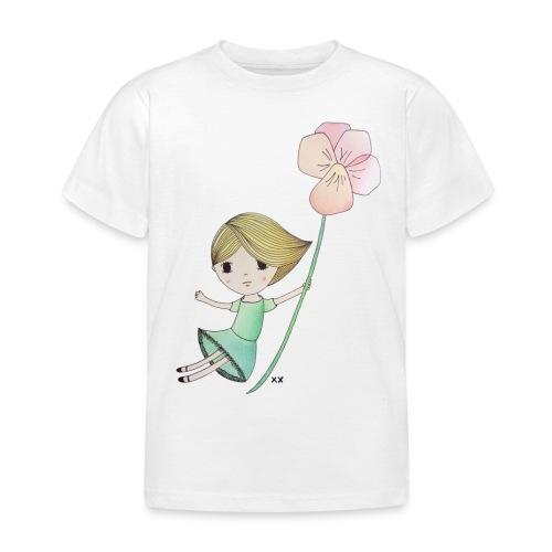 meisje met viool - Kinderen T-shirt