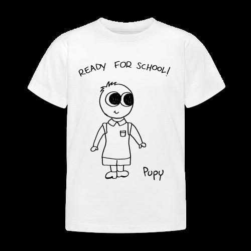 Pupy: ready for school! boy - Maglietta per bambini