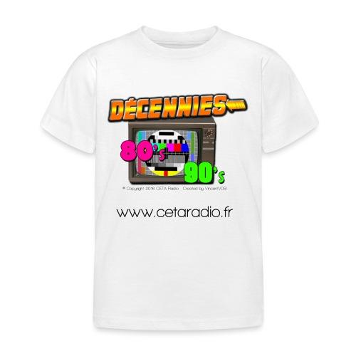 Logo Decennies80's90's CR - T-shirt Enfant