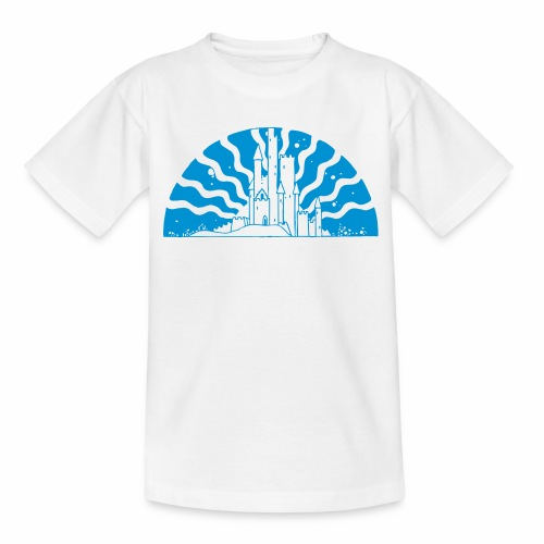 Fairytale Castle Sunrise - Kinder T-Shirt