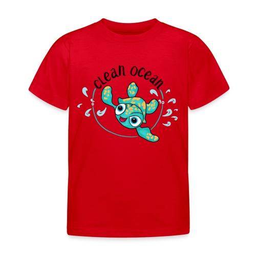 Clean Ocean - Kids' T-Shirt