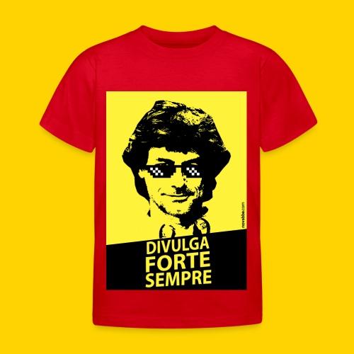 DIVULGA FORTE SEMPRE - Maglietta per bambini