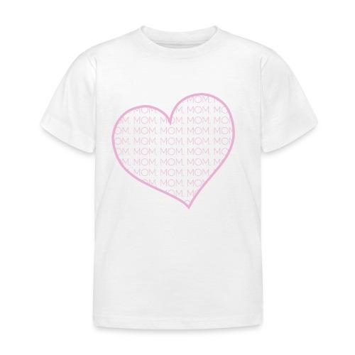 Mother's Day Heart - Kids' T-Shirt