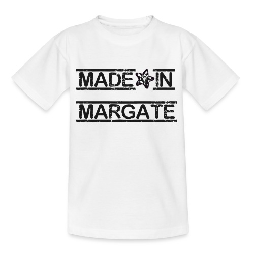 Made in Margate - Black - Kids' T-Shirt