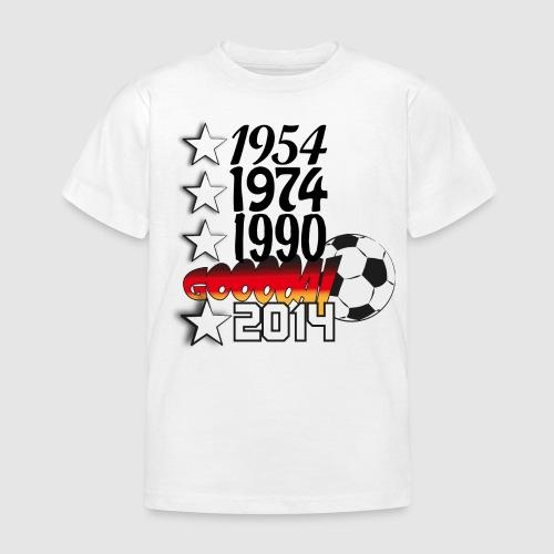 54_74_90_14_gooooal - Kinder T-Shirt