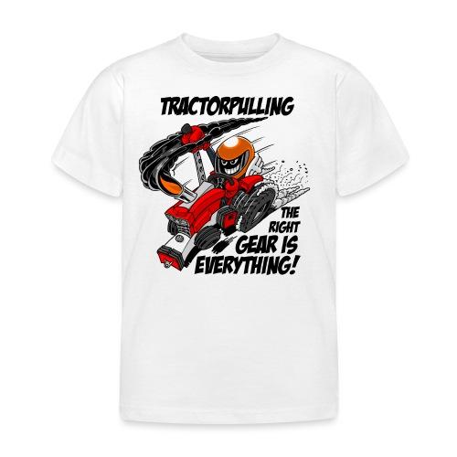 0966 tractorpulling - Kinderen T-shirt