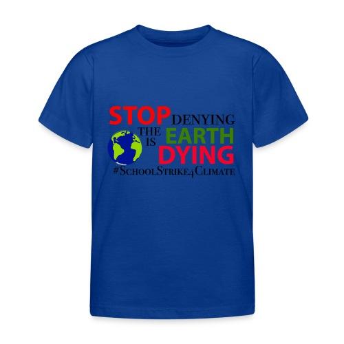 School Strike 4 Climate - Kinderen T-shirt