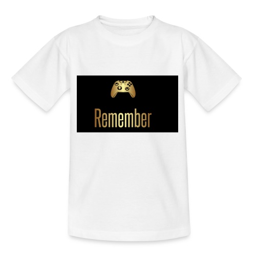 Merch Remember - Børne-T-shirt