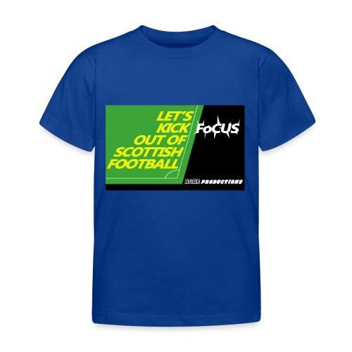 kickfocus - Kids' T-Shirt