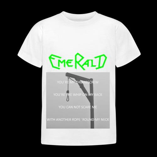 Emerald - Kinder T-Shirt