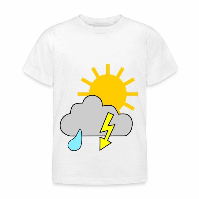 Sun - rain - thunderstorm