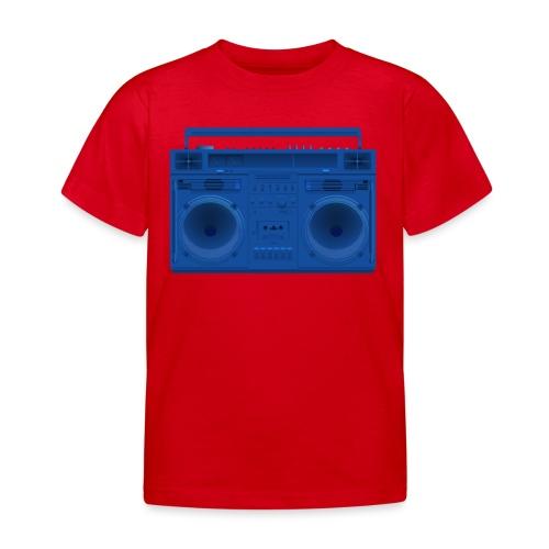 Bestes Stereo blau Design online - Kinder T-Shirt