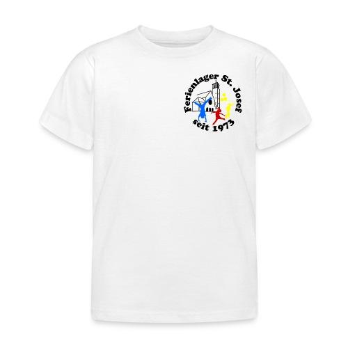 Logo Gif schwarz farbig 120dpi 2000px - Kinder T-Shirt