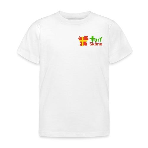 Turf Skåne Logo röd - T-shirt barn