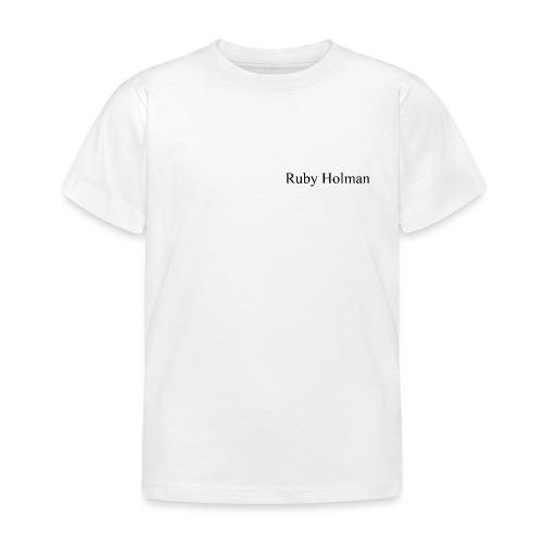 Ruby Holman - T-shirt Enfant