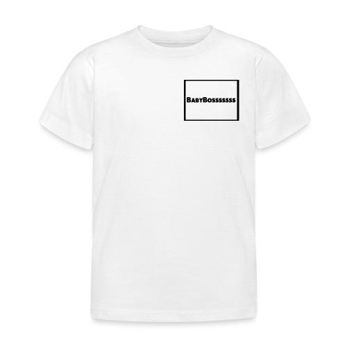 BabyBosssssss - Kids' T-Shirt