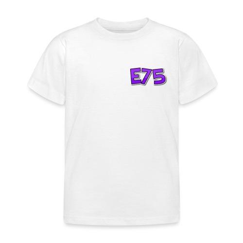 Ethan75HD - E75 Logo - Kids' T-Shirt