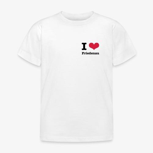 I love Friedenau - Kinder T-Shirt