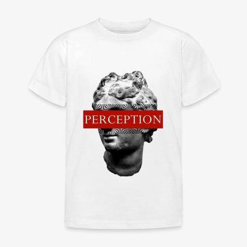 TETE GRECQ RED - PERCEPTION CLOTHING - T-shirt Enfant