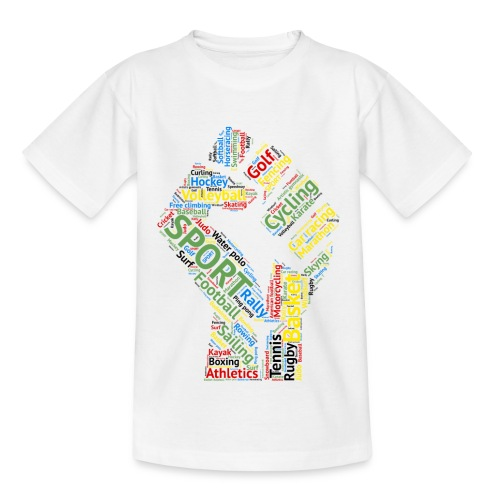 Sport tag hand - Maglietta per bambini