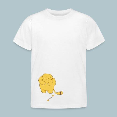 Katze stehend - Kinder T-Shirt
