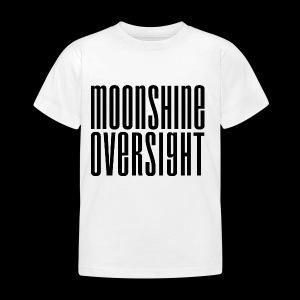 Moonshine Oversight noir - T-shirt Enfant