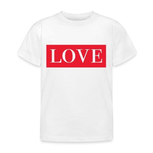 Red LOVE - Kids' T-Shirt