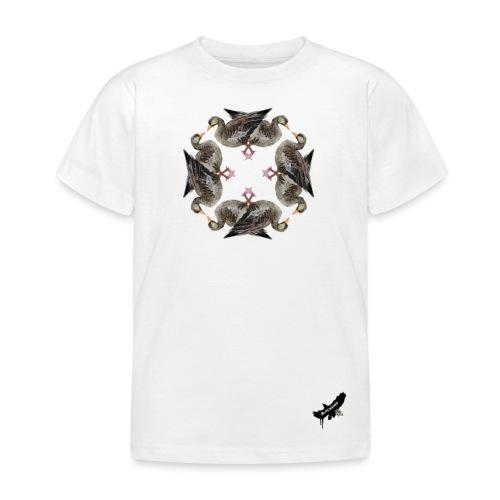 'Goose Circle' by BlackenedMoonArts - Børne-T-shirt