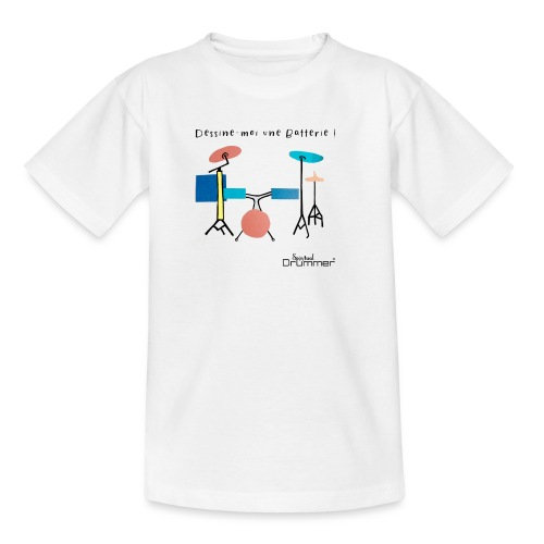 Azia Drum - Kids' T-Shirt