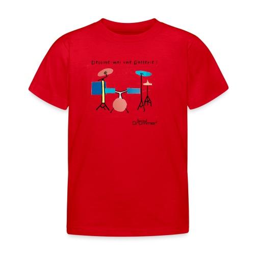 Azia Drum - Kids' T-Shirt