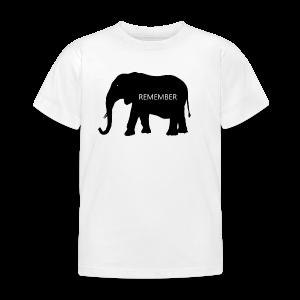 Elephant Collection - T-skjorte for barn