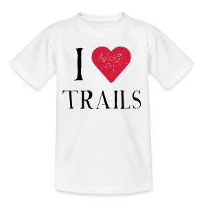 I HEART TRAILS - Kinder T-Shirt