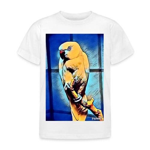 Bird in color - Lasten t-paita