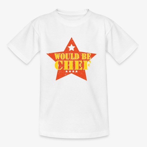 Would Be Chef - Kinderen T-shirt