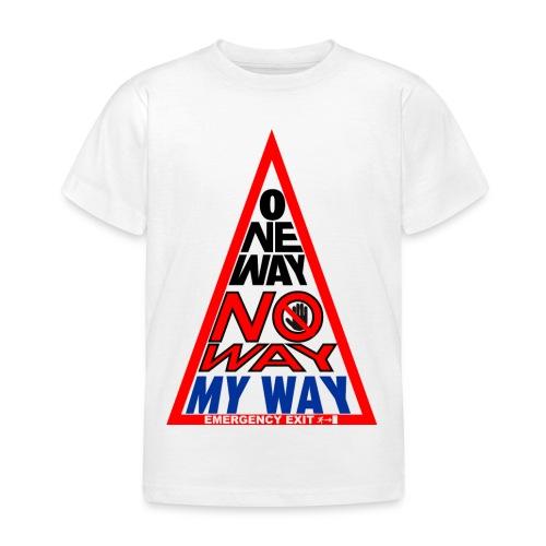 No way - Maglietta per bambini