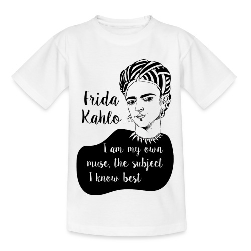 frida kahlo quote shirt - Kids' T-Shirt