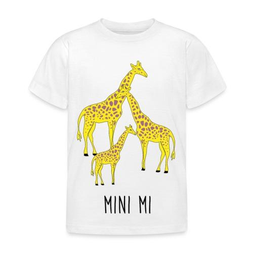 Giraffen Familie - Kinder T-Shirt
