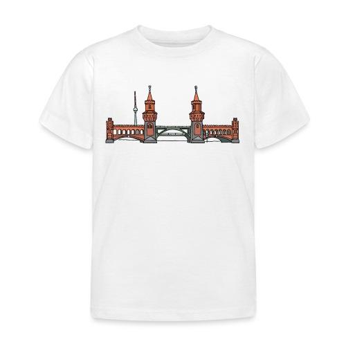 Oberbaumbrücke w Berlinie c - Koszulka dziecięca
