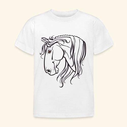 Cheval espagnol (noir) - T-shirt Enfant