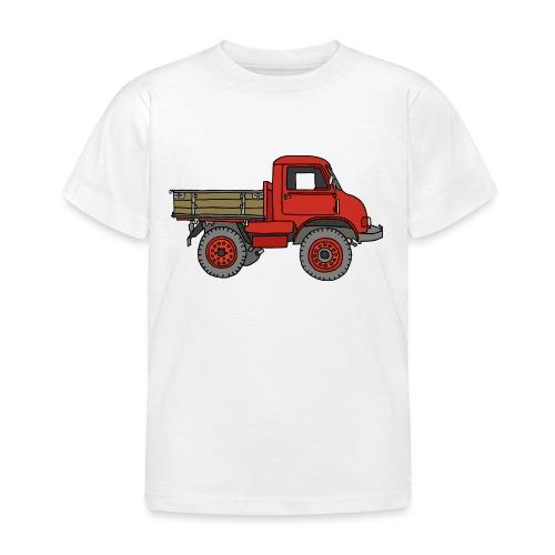 Roter Lastwagen, LKW, Laster - Kinder T-Shirt