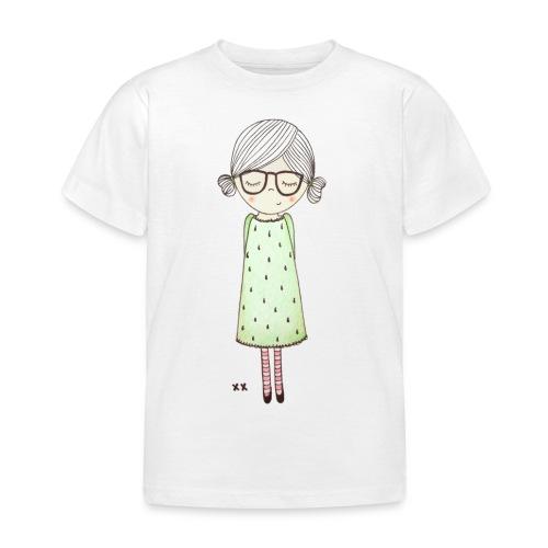 meisje met bril - Kinderen T-shirt