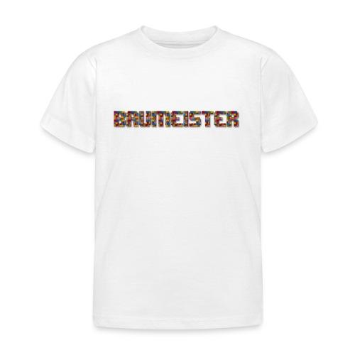 Baumeister png - Kinder T-Shirt