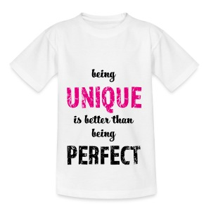 being UNIQUE - Kinder T-Shirt